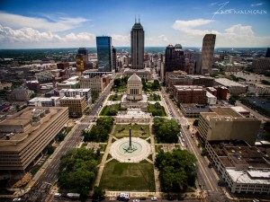 Downtown Indianapolis, Indiana War Memorial Plaza, Veterans Memorial Plaza