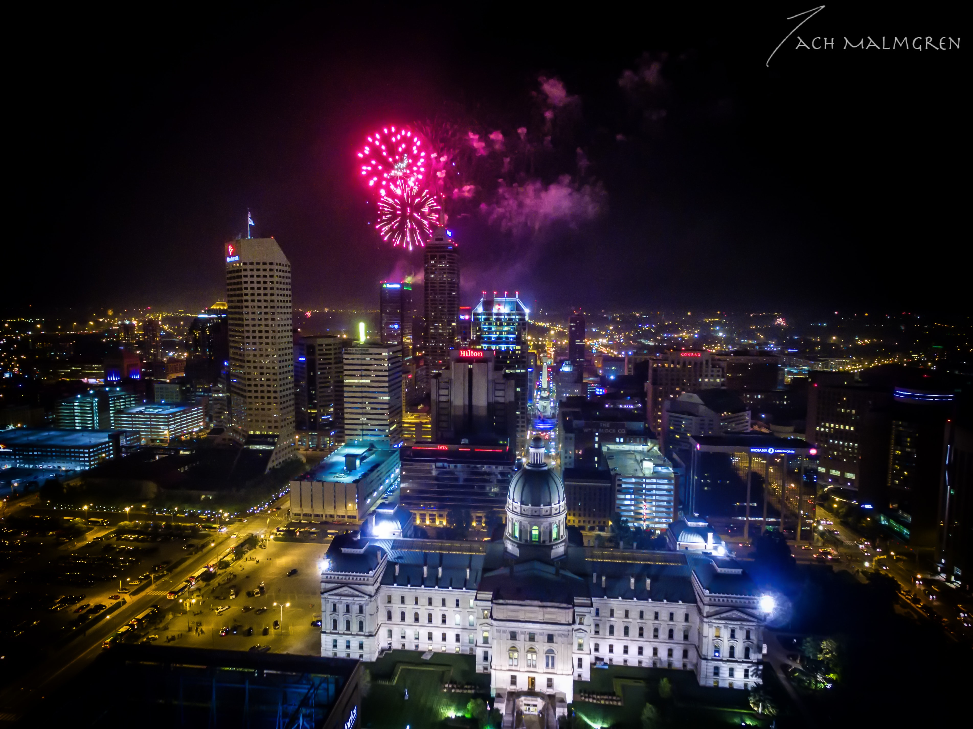 4th of July, Downtown Indianapolis, Indiana State Capitol
